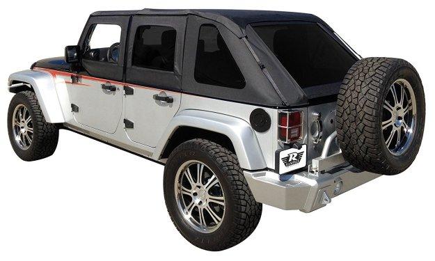 Soft Top Jeep Wrangler 4 Door Jeep Wrangler Tops